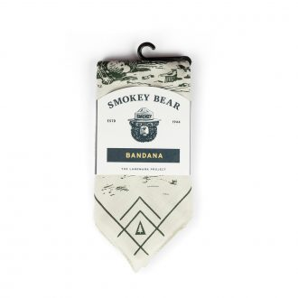 Smokey The Bear Bandana | The Landmark Project | Trail Industries