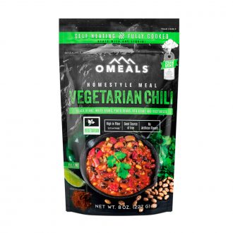 OMEALS | Vegetarian Chili | Self Heating | Trail Industries