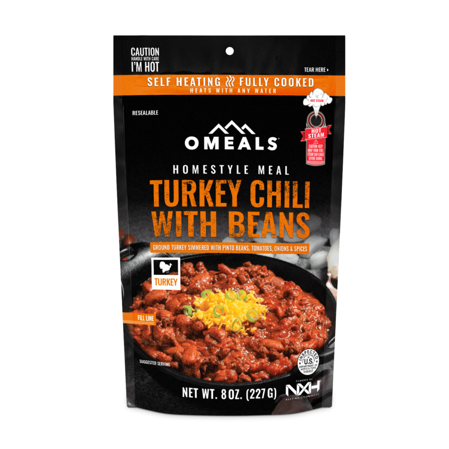 Trail Industries | Omeals | Turkey Chili with Beans