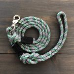 Reflective Rock Climbing Rope Dog Leash with Quick Clip