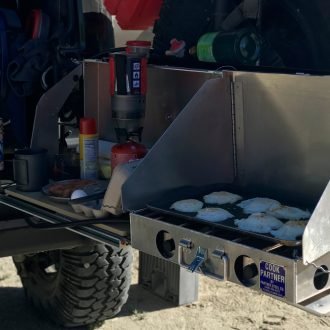 Expedition Essentials | Trail Industries | ExO Table Lite: Universal Camp Kitchen
