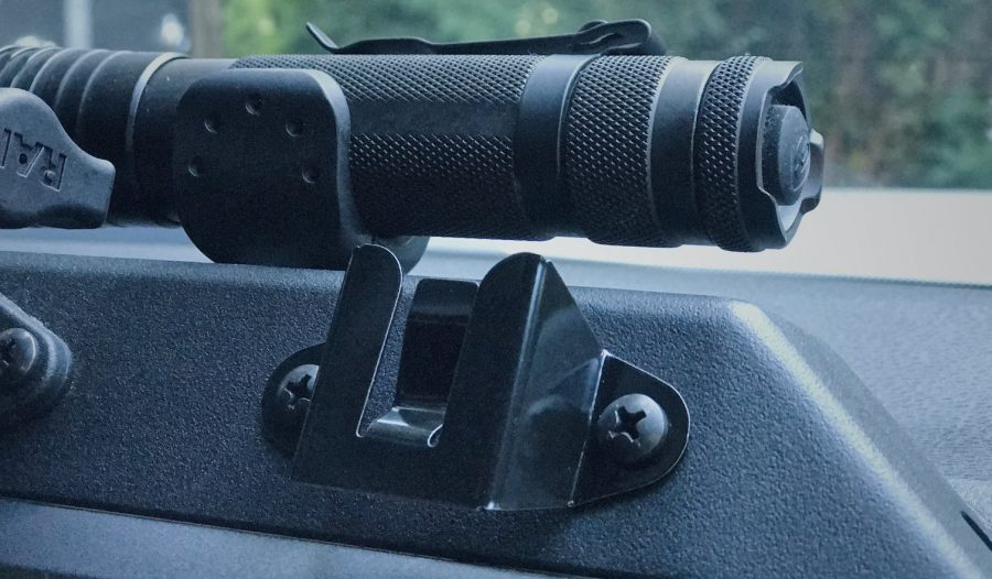 Expedition Essentials   Trail Industries   Stainless Steel Radio/ Mic Mount