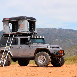 ROAM Tents | Trail Industries | The Rambler Hardshell Rooftop Tent