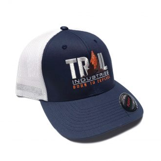 Trail Industries | Flexfit Trucker Hat | Born To Explore