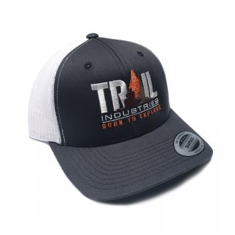 Trail Industries | Born to Explore | Retro Snapback Trucker Hat