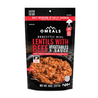 Trail Industries | Omeals | Lentils with Beef