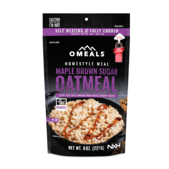 Trail Industries | Omeals | Maple Oatmeal