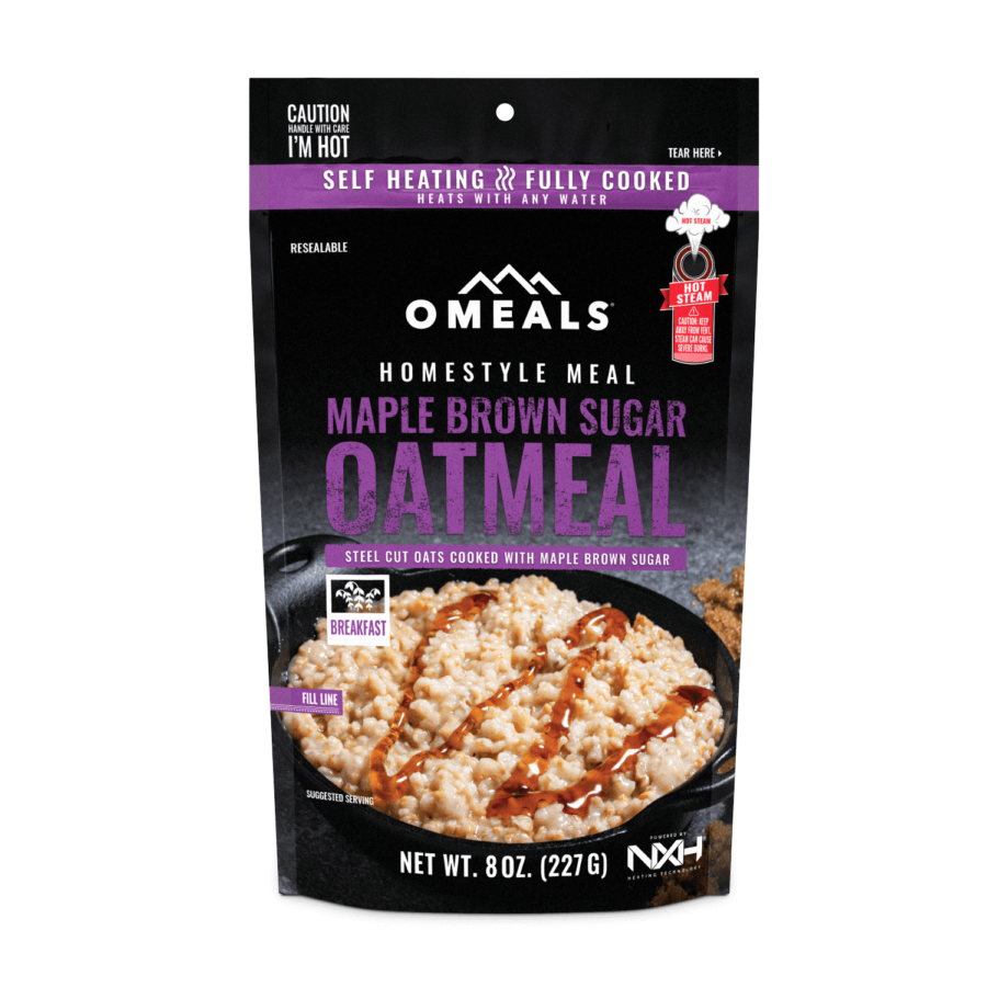 Trail Industries   Omeals   Maple Oatmeal