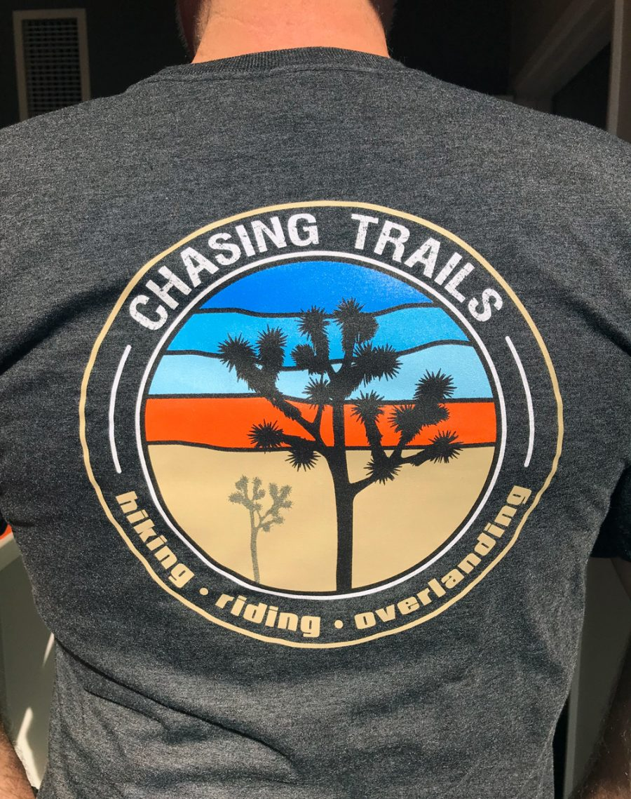 Trail Industries | Chasing Trails | Graphic T Shirt
