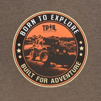 Trail Industries | Overlanding Graphic Tee | Born to Explore