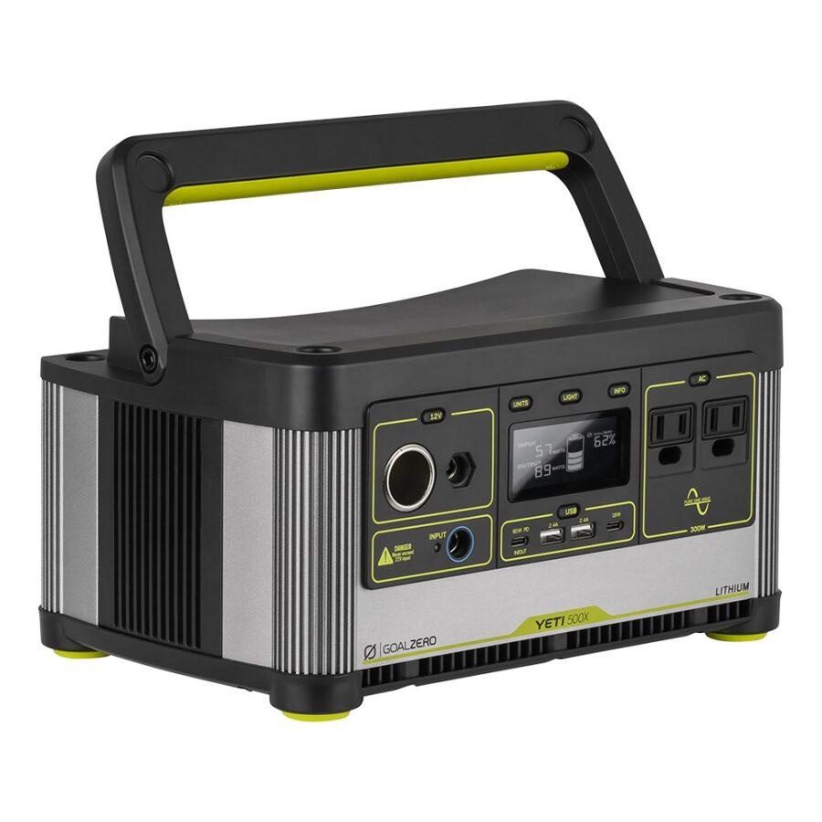 Trail Industries | Goal Zero | Yeti 500x Portable Power System