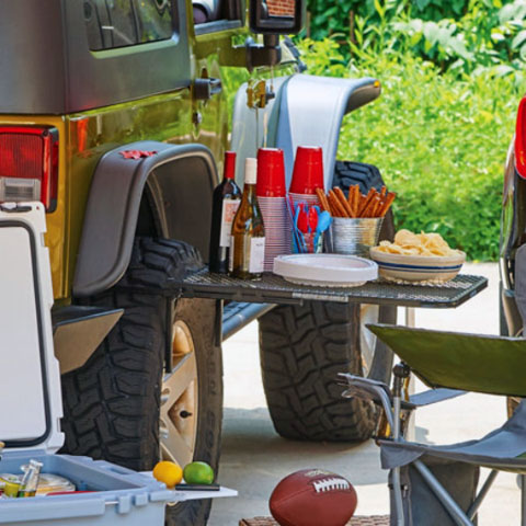 Trail Industries | TailGater Tire Table