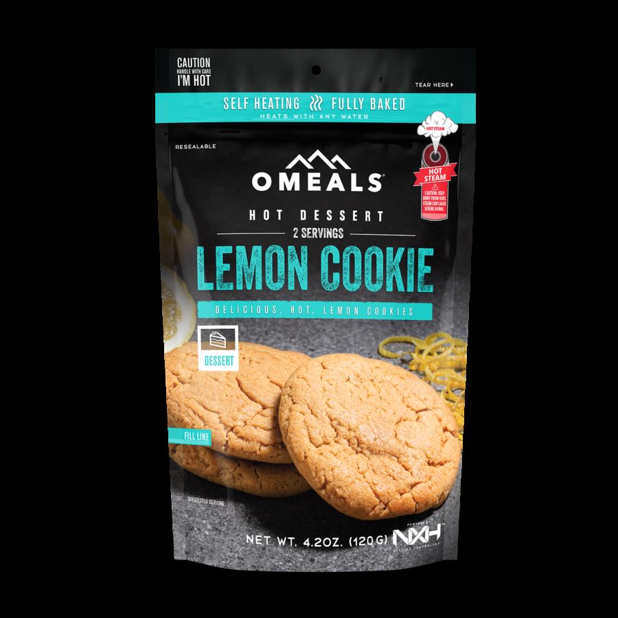 Trail Industries   Omeals Self Heating Meals   Lemon Cookie