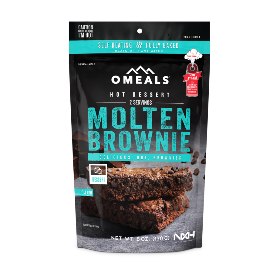 Trail Industries | Omeals Self Heating Meals | Brownie