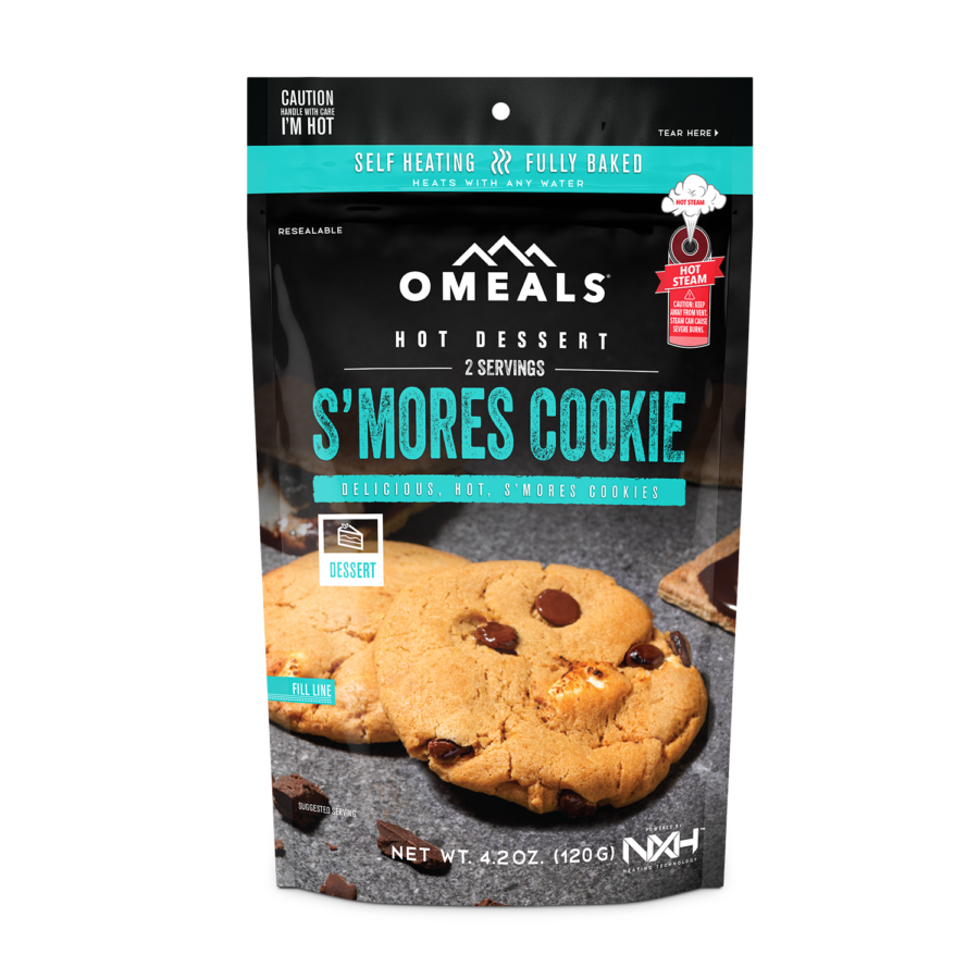 Trail Industries   Omeals Self Heating Meals   S'more