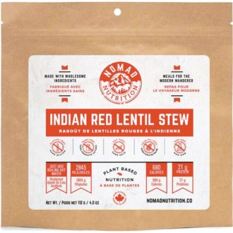 Trail Industries | Nomad Nutrition | Indian Red Lentil Stew