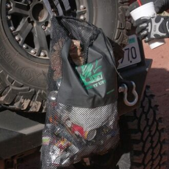 Trail Industries | Smittybilt | Pick it Up Mesh Trash Bag