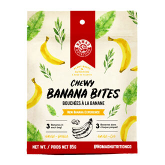 Trail Industries | Nomad Nutrition | Chewy Banana BitesTrail Industries | Nomad Nutrition | Chewy Banana Bites