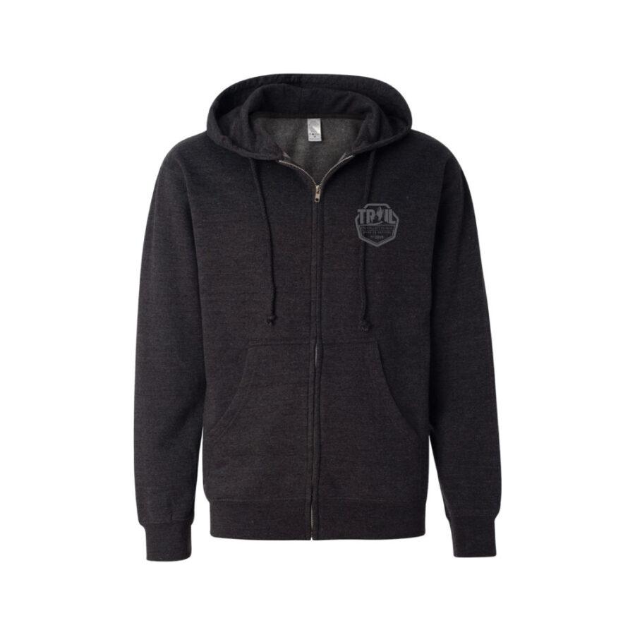 Trail Industries   Fleece Front Zip Up Jacket