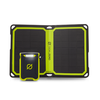 Trail Industries | Goal Zero | Venture 30 Recharger with Nomad 7 Plus Solar Panel Kit