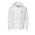 Trail Industries White Camo Windbreaker