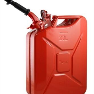 Trail Industries | Wavian USA | Steel Jerry Gas Can with Spout