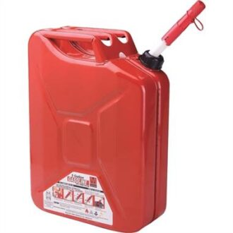 Trail Industries | Midwest Can Company | Red Classic Jerry Can 5 Gallon