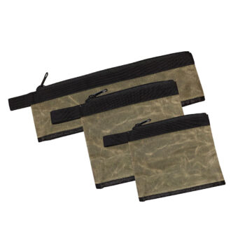 Trail Industries | OVS | Overland Vehicle Systems | Medium Waxed Bags Set of 3