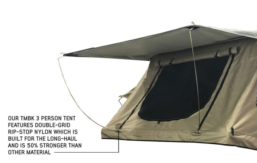 Trail Industries | Overland Vehicle Systems | OVS | TMBK 3 Person Roof Top Tent