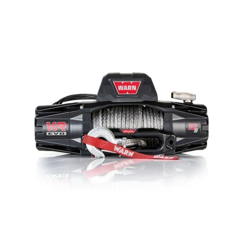 Trail Industries   Warn   VR EVO 10-S Winch with Synthetic Rope