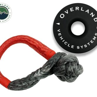 Trail Industries | Overland Vehicle Systems | Combo Pack Soft Shackle 5/8 in and Recovery Ring 6.25""