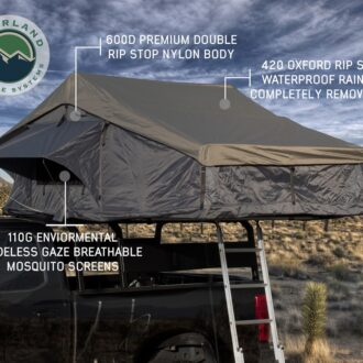 Trail Industries | Overland Vehicle Systems | Nomadic 4 Person Roof Top Tent