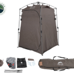 OVS Wild Land Portable Privacy Room with Shower, Retractable Floor and Amenity Pouches