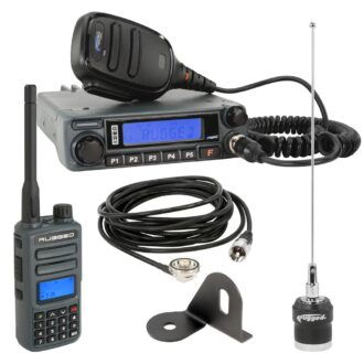 Trail Industries | Rugged Radio | Jeep Radio Kit - GMR45 GMRS Mobile Radio and GMR2 Handheld