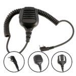 Rugged Radios Hand Speaker Mic Waterproof for Handheld Radios
