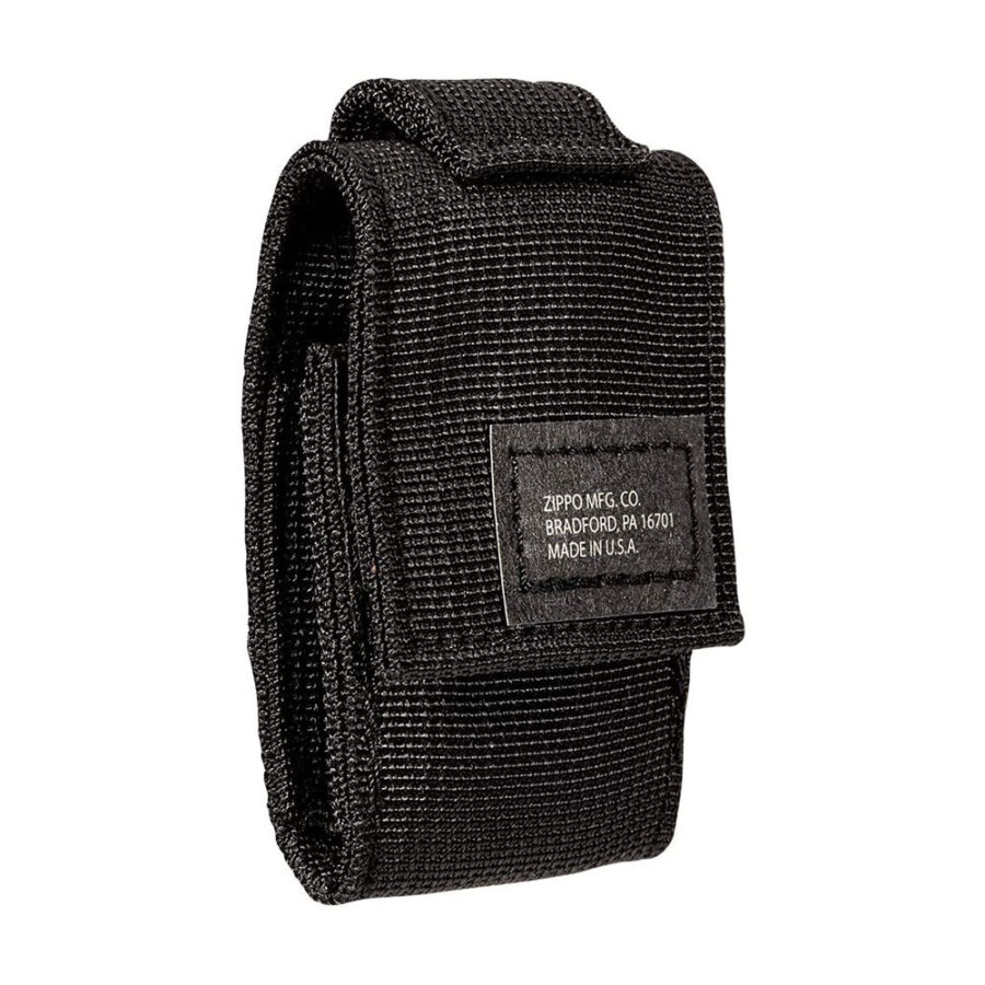 Trail Industries | Zippo Lighter and Tactical Pouch | Black