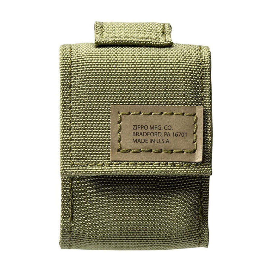 Trail Industries | Zippo Lighter and Tactical Pouch | OD Green