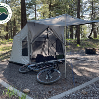 Trail Industries | Overland Vehicle Systems | OVS | Portable Safari Tent